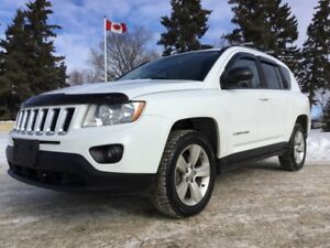 2013 Jeep Compass, NORTH-PKG, AUTO, 4X4, LOADED, CLEAN CARFAX!