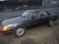 1986 ford mustang 5.0L and 5 speed transmission