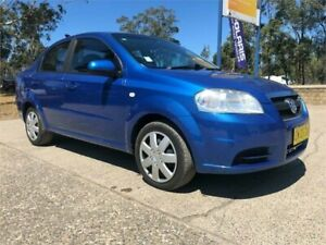 2007 Holden Barina TK MY07 Blue 4 Speed Automatic Sedan South Nowra Nowra-Bomaderry Preview