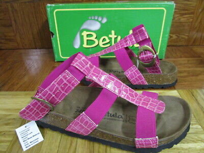 Betula By Birkenstock Gladiator Style Hot Pink Sandals
