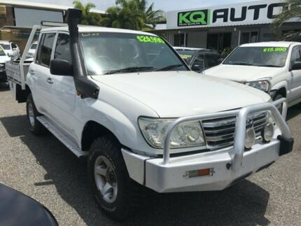 2005 Toyota Landcruiser White 5 Speed Manual Dual Cab Winnellie Darwin City Preview