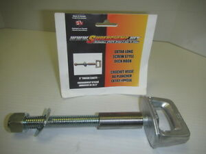 Extra long deck hooks, Superclamps available at Cooper's!