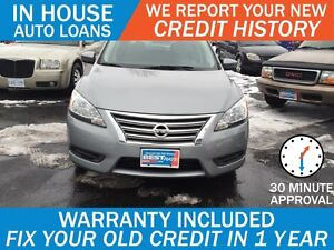 NISSAN SENTRA S 6MT -APPROVED IN 30 MINUTES! - ANY CREDIT LOANS