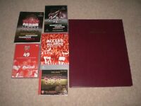ARSENAL FOOTBALL CLUB - BOOKS AND DVDS