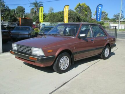 1983 Ford Meteor Ghia Bronze Metallic 3 Speed Automatic Sedan Capalaba Brisbane South East Preview