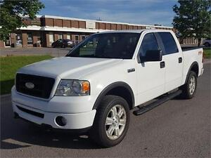 2008 FORD F-150 FX4 OFF ROAD   CREW CAB    LEATHER  4X4  SUNROOF