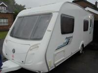 2009 Swift Accord S57 6 Berth Caravan For Sale.Fixed Rear Bunks.Motormover