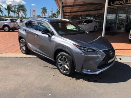 2017 Lexus NX AGZ15R NX200t AWD F Sport Grey 6 Speed Sports Automatic Wagon