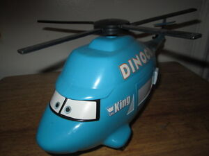 "***DISNEY/PIXAR CARS DYNOCO 14""HELICOPTER W/SOUND FX+MATER!!!***"