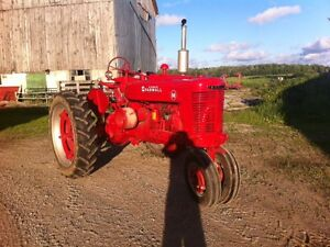 Antique International Farmall M Tractor