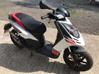2014 Aprilia SR 50 Moped / Scooter - LOW MILEAGE
