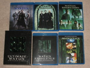 The Ultimate Matrix Collection Trilogy Blu Ray BluRay