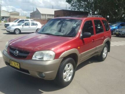 2002 Mazda Tribute Classic Red 4 Speed Automatic 4x4 Wagon Georgetown Newcastle Area Preview