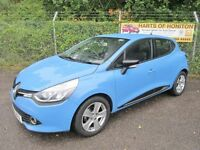 Renault Clio 1.5 Dynamique MediaNav DCi 90 Energy Turbo Diesel 5DR (french blue) 2013