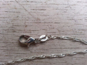 never worn sterling silver