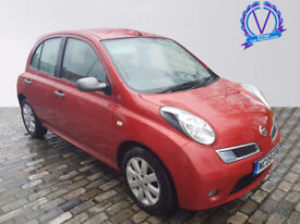 NISSAN MICRA 1.5 dCi 86 25 5dr (red) 2009