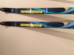 SKATE SKI PACKAGE with BOOTS & POLES - AS NEW