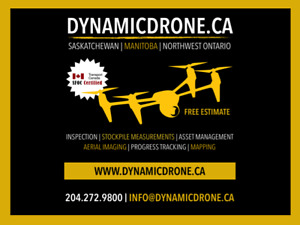 FREE ESTIMATE - DYNAMICDRONE.CA   UNMANNED SOLUTIONS
