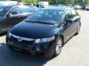 2010 Honda Civic EX-L WITH LEATHER ,SUNROOF ,HEATED SEATS