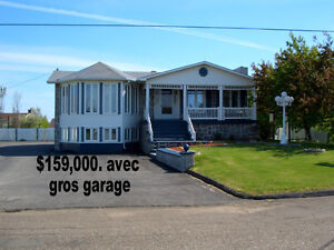 Big House and Big Garage, at 16 Rue Du Rivage in Lameque, N.B.