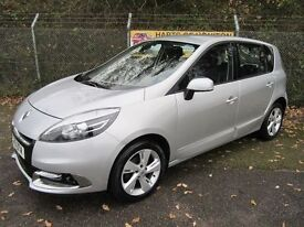 Renault Scenic 1.5 Dynamique Tom Tom DCi Turbo Diesel (mercury silver) 2013