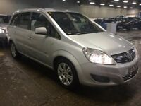 2011 VAUXHALL ZAFIRA 1.8 ELITE MPV PETROL MANUAL 7 SEATER FAMILY CAR LONG MOT TOP SPEC NOT SCENIC
