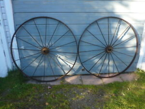 Vintage Steel Wheels........Timmins Area Delivery