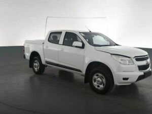 2016 Holden Colorado RG MY16 LS (4x4) Grey 6 Speed Automatic Crew Cab Pickup Geebung Brisbane North East Preview