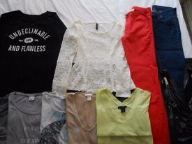 Bundle clothes 13items,different names,size 10/EU 36-very good condition
