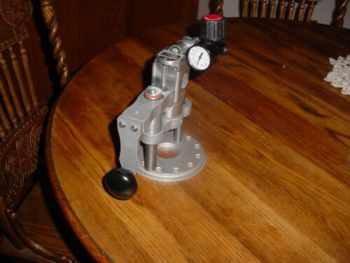 Power Draw Bar for Bridgeport & Import mills comes with a air pressure regulator