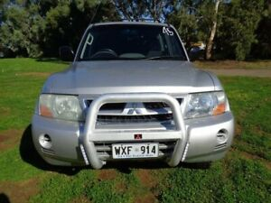 2003 Mitsubishi Pajero Silver Sports Automatic Wagon Mile End South West Torrens Area Preview