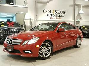 2010 Mercedes-Benz E350-COUPE-PANO ROOF