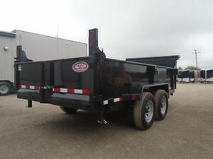 2017 QUALITY STEEL 6X14 DUMP - 10,000LB GVWR - RATED BEST PRICE London Ontario image 2