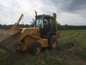 John Deere Backhoe For Sale