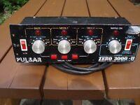 PULSAR ZERO 3000 DISCO LIGHT CONTROLLER -TOP CLASS PRO UNIT- 3 CHANNEL !!!!
