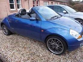 FORD STREET KA 1.6 LUXURY ROADSTER 54 REG,, CONVERTABLE ,,GET READY FOR SUMMER ,, MOT JULY 18TH 2018