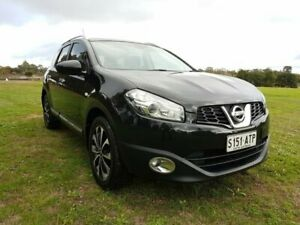 2012 Nissan Dualis J107 Series 3 MY12 +2 X-tronic AWD Ti-L Black 6 Speed Constant Variable Hatchback