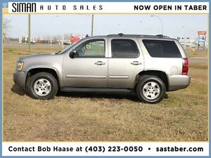 2009 CHEVROLET TAHOE LT WITH LEATHER/SUNROOF/8 PASSENGER