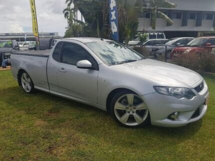 2011 Ford Falcon FG MkII XR6 Ute Super Cab Turbo Silver 6 Speed Manual Utility Berrimah Darwin City Preview