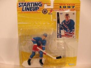 Wayne Gretzky 1997 Kenner Starting Lineup Figurine w/card NM-MT.