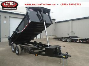 2017 QUALITY STEEL 6X14 DUMP - 10,000LB GVWR - RATED BEST PRICE London Ontario image 1