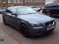 58 BMW 525d 3.0 Automatic **Sat Nav DVD player Leather Seats **Low Miles