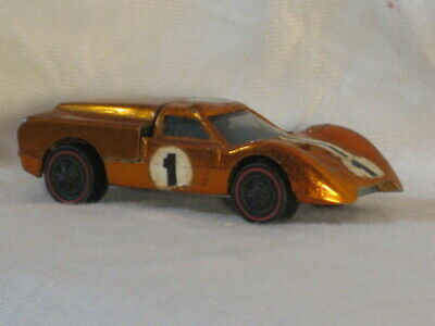 Hot Wheels Redline Car 1967 USA Ford J-Car Copper Black Interior VERY GOOD SEE