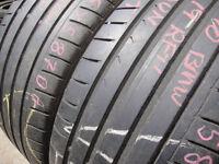 245/40/19 Dunlop SP Sport Maxx GT, BMW, Runflat x2 A Pair, 5.1mm (168 High Road, Romford, RM6 6LU)