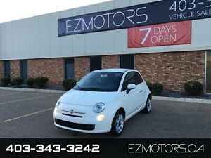 2012 FIAT 500 Pop=LOW KMS=WARRANTY=SALE!