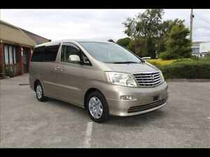 2006 Toyota Alphard ANH10 2.4 lt 5 SP AUTOM Bayswater Knox Area Preview