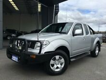 2013 Nissan Navara D40 MY12 ST-X (4x4) Silver 6 Speed Manual Kingcab Beckenham Gosnells Area Preview