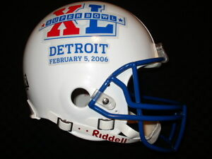 PROLINE AUTHENTIC SUPER BOWL XL HELMET