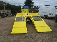 Crane Fruehauf 16 Wheel Heavy Duty Trailer 900 x 20 Tyres, Capable of Carrying D9, Ideal Export