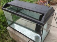 Light-Glo Large Fish Tank 80x35x45cm with Fluval Pump / Filter